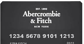 Abercrombie And Fitch Credit Card