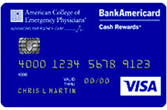 Acep Bankamericard Cash Rewards Visa Credit Card