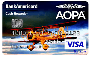 AOPA Cash Rewards Credit Card login
