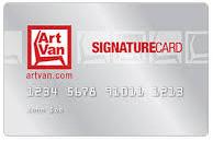 Art Van Stores Credit Card Login