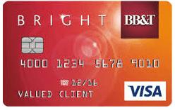 BB&T Bright Credit Card Login