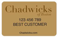 Chadwicks Credit Card Login