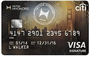 Citi Hhonours Visa Credit Card
