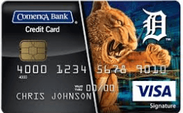 Comerica Visa Credit Card