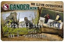 Gander Mountain Credit Card