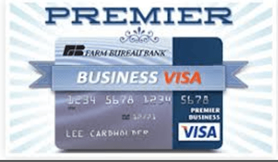 Farm Bureau Premier Business Visa Card