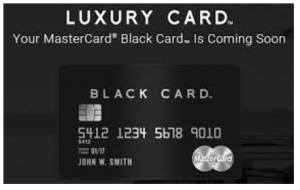 Luxury Card Mastercard