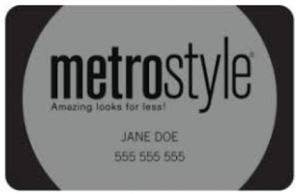 Metrostyle Credit Card