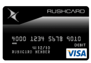 Rushcard Prepaid Visa Card