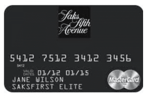 Saks Fifth Avenue MasterCard