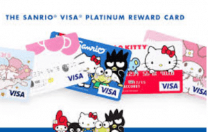 Sanrio Visa Platinum Rewards Credit Card