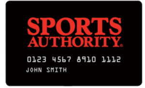 Sports Authority Credit Card