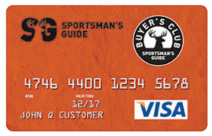 Sportsman's Guide Credit Card