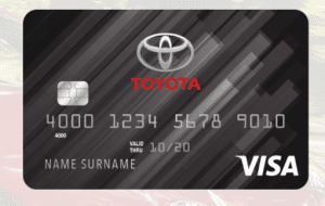 Toyota Credit Card Login