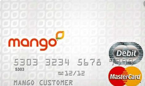 Mango Prepaid MasterCard